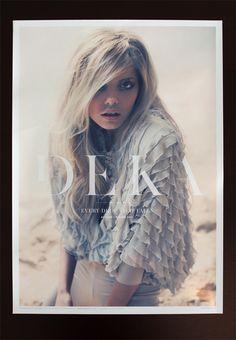 DEKA - Clothing Label by Raewyn Brandon, via Behance