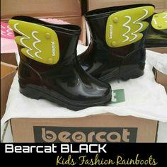 READY STOCK KIDS RAINBOOTS KODE : BC Black Size 15cm,22cm PRICE : Rp.210.000,- DETAIL SIZE (insole) : - Size 15cm >> setara size 25 - Size 22cm >> setara size 35  FOR ORDER : SMS/Whatsapp 087777111986 PIN BB 766a6420 Facebook : Mayorishop  #pusatsepatubootsanak #kidsrainboots #fashionrainboots #rainboots #bootshujan #sepatuantiair #sepatuhujan #bootshujan #sepatukaret #candyshoes #rubbershoes #sepatuanak #sepatulucu #bootsimport #readystock #mayorishoponline #bogor Kids Rain Boots, Rubber Rain Boots, Black Kids Fashion, Hunter Boots, Happy Shopping, Candy, Cute, Shoes, Collection