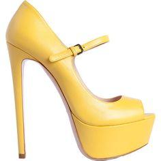 yellow bombas