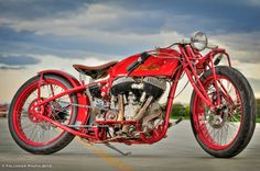 Indian 1911 Board Track Racer    No throttle, ran full blast at 100+ mph, no brakes, only a kill switch.  Terrifying