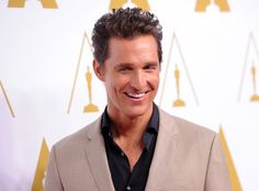 Matthew McConaughey, the front runner for Best Actor (Dallas Buyers Club)