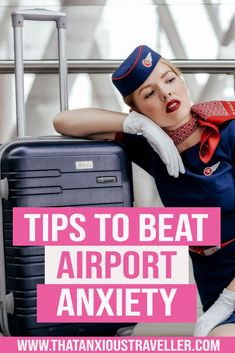 How do you deal with pre-travel anxiety? What helps airport anxiety? Read our stress-busting tips that'll make your time in the airport so much easier! Travel Advice, Travel Guides, Travel Tips, Travel Hacks, Airline Travel, Travel Abroad, Air Travel, Packing Tips, Europe Packing