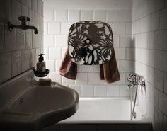 Electric towel warmer 220V Consumption: 90 watt Thermal efficiency: 78 kcal Towel warmer with a shiny stainless steel laser-cut cover. #shelf #bathroom #towel #rack #warmer #heater #decor #bath