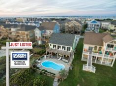 JUST LISTED!! Coldwell Banker Spectrum Properties is pleased to assist the Seller in placing this spectacular beach home on the market! Located at 202 Ocean Boulevard in the community of Asbury Beach, Atlantic Beach, NC!! www.spectrumproperties.com #justlisted #residential #atlanticbeachnc #crystalcoast #genblue #homerocks