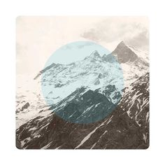 $145 Limited edition Giclee art print.  61 x 61cm (unframed) CRANE MUSEO PORTFOLIO RAG (Matt) 300gsm   IMAGE: Snow capped mountains in the valley of the Annapurna Base Camp, Nepal.