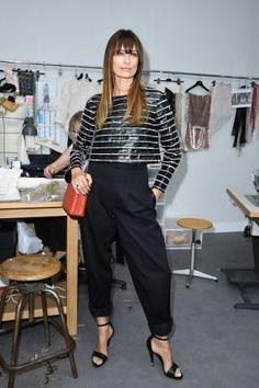 Caroline de Maigret A fashionista com + de 40 que faz sucesso no mundo da moda Mulheres Estilosas