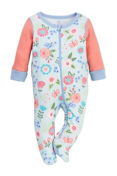 Boppy - Floral Sleep 'N' Play Footie (Baby Girls) is now 50% off. Free Shipping on orders over $100.