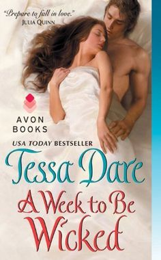 A Week to Be Wicked by Tessa Dare (Spindle Cove #2), http://www.amazon.com/dp/B00A9UZHDQ/ref=cm_sw_r_pi_dp_z5Z0rb0D6VGHY