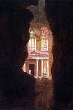 Petra Greek meaning rock is a historic and archaeological city in the Jordanian governorate of Ma'an that has rock cut architecture and a water conduits system. Established sometime around the 6th cen