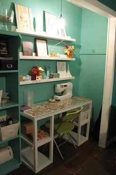 exactly what I want my craft area to look like! loving it :)