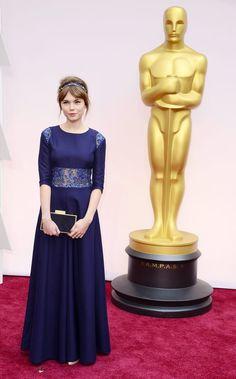 Agata Trzebuchowska w czółenkach PRIMAMODA na gali rozdania Oscarów 2015 http://www.primamoda.com.pl/kolekcja-damska/czolenka/bezowe-eleganckie-czolenka-9757.html
