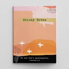 Illustrated Faith - We Are God's Masterpiece - Sticky Note Set