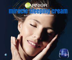 Llega a nuestras tiendas, la primera crema Anti-edad, que combate los signos de la fatiga y las arrugas mientras duermes. UltraLift Miracle Sleeping Night Cream, pruébala, te sorprenderá..y es de Garnier