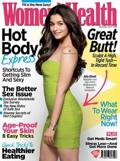#AliaBhatt on the cover of Men's Health