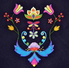 Grand Sewing Embroidery Designs At Home Ideas. Beauteous Finished Sewing Embroidery Designs At Home Ideas. Beaded Embroidery, Hand Embroidery, Machine Embroidery, Native Beadwork, Native American Beadwork, Beading Patterns, Embroidery Patterns, Floral Patterns, Floral Designs