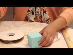 How to Assemble a Favor Box and Tie a Ribbon Bow