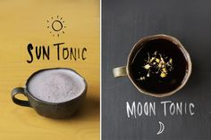 Sun Tonic & Moon Tonic Drinks