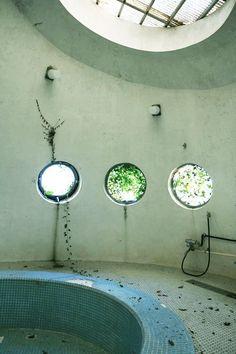Abandoned resort on the Izu Peninsula, Japan.