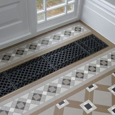 London Mosaic - Victorian Floor Tiles for Dining Room