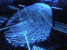 Mobile phone fingerprint scanner