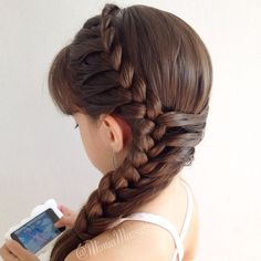 50 Affordable Braided Hairstyle Ideas For Girls # Braids for girls dr. who 50 Affordable Braided Hairstyle Ideas For Girls # Braids for girls dr. Side Braid Hairstyles, Little Girl Hairstyles, Cute Hairstyles, Wedding Hairstyles, Hairstyle Ideas, Amazing Hairstyles, Kids Hairstyle, Stylish Hairstyles, Frozen Hairstyles