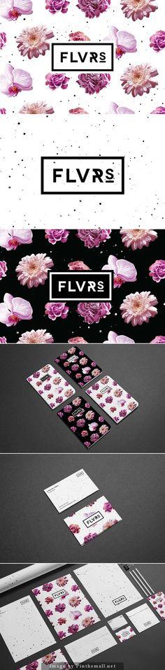 (2) Flvrs Brand Identity   Gráfico!   Pinterest