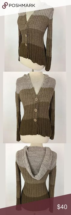 BCBG Max Azria sweater Bust: 38 Waist: 33 Shoulder to hem: 24 in front, 27 in back 67% acrylic,33% nylon.   Item: 965 BCBGMaxAzria Sweaters Cardigans