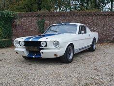 1966 Mustang 350 GT in race trim