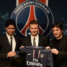 David Beckham - Paris Saint-Germain from LA Galaxy