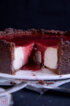 Nutka Słodyczy: Cheesecake with glögg (Glögijuustokakku)