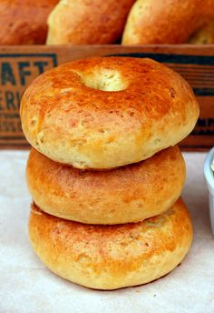 Gluten-Free Egg Bagels - Don't they look beautiful?!