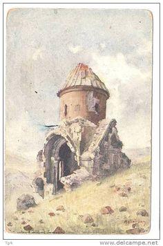 RMENIE KARS ANI illustration par FETVADJIAN église