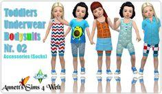 Annett`s Sims 4 Welt: Toddlers Underwear Bodysuits - Nr. 02 • Sims 4 Downloads