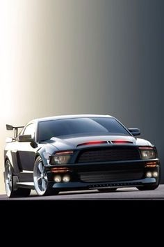 Is this a muscle car? Yea its a Ford Mustang - and its KITT! Us Cars, Sport Cars, Lamborghini, Ferrari, Car Backgrounds, Mc Laren, Ford Mustang Gt, Performance Cars, Expensive Cars