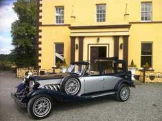Here we present our convertible navy sapphire and silver vintage beauford wedding cars for your wedding in Irelan cream leather interior Wedding Car Hire, Kit Cars, Leather Interior, Convertible, Antique Cars, Navy, Silver, Vintage Cars, Hale Navy