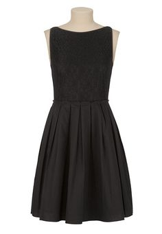 A-line Lace Top Dress available at #Maurices