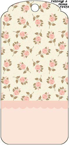 Floral Rosa - Kit Completo com molduras para convites, rótulos para guloseimas…                                                                                                                                                      Mais