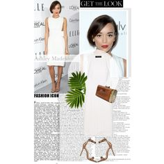 Get The Look: Ashley Madekwe by prettyorchid22 on Polyvore featuring Thakoon, Gianvito Rossi and Kayu