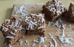 Vanilla Coconut Protein Bars | Britt's Blurbs