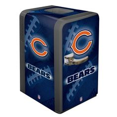 Chicago Bears Portable Party Hot/Cold Fridge