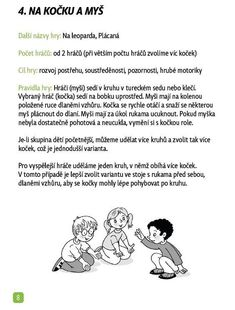 pohybové hry pro děti Recipes food and drink europe Aa School, School Clubs, Preschool Activities, Games For Kids, Books, Europe, Recipes, Island, Sport