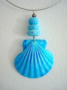 Polymer clay shell