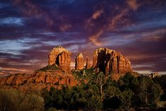 Sedona Photograph - Cathedral Rock by Diana Powell