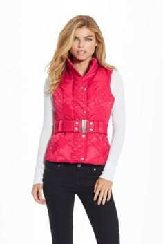 Ashanti Puffer Vest | GuessFactory.com