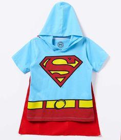 Camiseta Infantil Fantasia Superman - Tam 2 a 14 anos - Lojas Renner