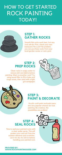 Painted rocks diy - More Ideas and Free Resources for Rock Painting and more – Painted rocks diy Rock Painting Supplies, Rock Painting Ideas Easy, Rock Painting Designs, Painting For Kids, Pebble Painting, Stone Painting, Pebble Art, Painting Art, Painting Videos