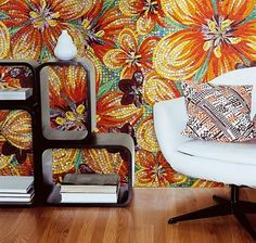 flower power mosaic by Sicis