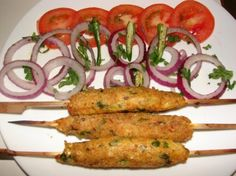 Aloo Ke Seekh Kabab Recipe
