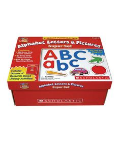 Love this Little Red Tool Box: Alphabet Letters & Pictures Super Set by Scholastic Teaching Resources on #zulily! #zulilyfinds