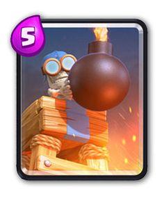 Clash Royale Torre Bomba